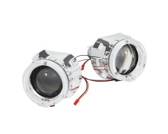 биксеноновые линзы rVolt stage 1 с ангельскими глазками CREE-LED