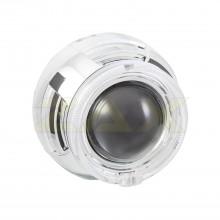 Маска для биксеноновых линз Zax BL-020 (3.0'') с ангельскими глазками CREE