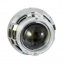 Маска для биксеноновых линз Zax BL-018 (3.0'') с ангельскими глазками CREE