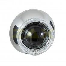 Маска для биксеноновых линз Zax BL-044 (3.0'') с ангельскими глазками CREE
