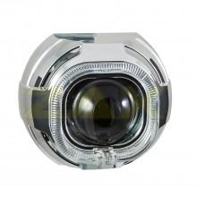Маска для биксеноновых линз Zax BL-075 (3.0'') с ангельскими глазками CREE