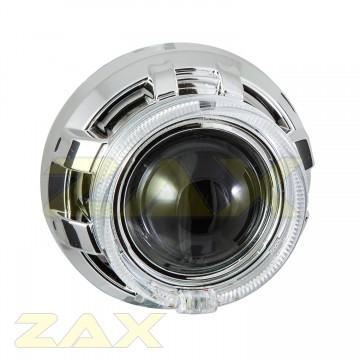 Маска для биксеноновых линз Zax BL-018 (3.0'') с аг CREE